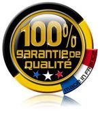 Garantie de qualité 100% — Fotografia Stock