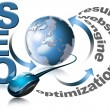 SEO - Search Engine Optimization Web - Stockfoto