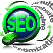 Search engine optimization web - SEO — Stock Photo