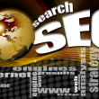 Royalty-Free Stock Photo: SEO search world background