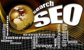 Seo zoek wereld achtergrond — Stockfoto