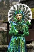 Wenecki karnawał maska — Zdjęcie stockowe