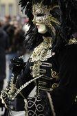 Máscara de carnaval veneziano — Foto Stock