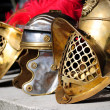 Stock Photo: Ancient Helmets