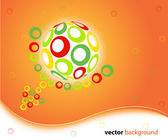 3d globe design — Stock Vector