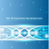 Glowing Lines — Stock Vector
