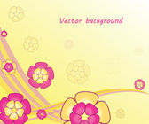 Elegant floral background — Vector de stock