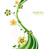 Elegant floral background — Stockvektor