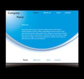 Conception de sites web élégant — Vecteur