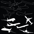 Stock Photo: Airplane transport illustration