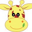 Cute giraffe — Stock Photo #6447503