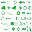 Green icons — Stock Photo #6447679
