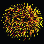 Fireworks illustration — Stock Photo