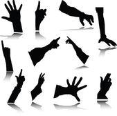 симпатичные человеческой руки — Стоковое фото
