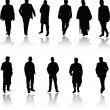 Men in various poses photo two — Stock Photo #6520747