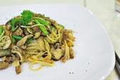 Sumptuous looking Aglio Olio spaghetti — Stock Photo