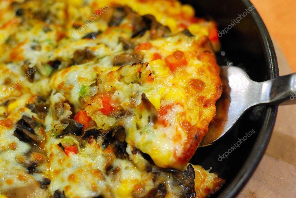 Delicious Looking Pizza Delicious Looking Vegetarian