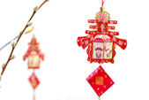 Chinese Lunar New Year tree decoration — Stock Photo