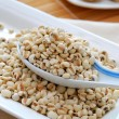 Dried barley seeds as food ingredients — Stock Photo