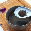 Chinese or Japanese tea for a healthy lifestyle — 图库照片