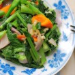 Green leafy vegetables — Stock Photo