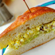 Vegetable and egg sandwich — Stock Photo #5841452