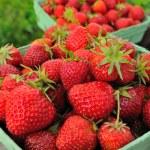 Fresh raw strawberries — Stock Photo #5841574