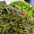 Green healthy seaweed dish - Stock Photo
