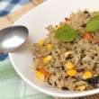 Vegetarian fried rice — Stock Photo