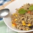 Vegetarian fried rice — Stock Photo #5842651