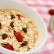 Nutritious oatmeal — Stock Photo