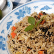 Healthy olive fried rice — Stock Photo #5844863