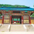 Stock Photo: Koretemple entrance architecture