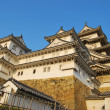 Majestic-looking Himeji castle - Stock Photo