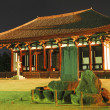 Stock Photo: Night view of ancient temple
