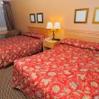 Stock Photo: Large room with tidy beds
