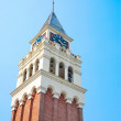 Towering majestic clock tower — Stock Photo #5845728