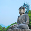 Majestic buddha statue - Stock Photo