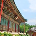 Постер, плакат: Korean temple architecture