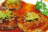 Chinese mushroom cuisine — Stock Photo