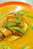 Asian fish curry — Stock Photo