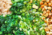 Variety of healthy vegetables — Stock Photo