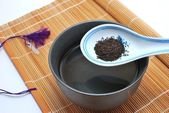 Chinese or Japanese tea for a healthy lifestyle — Stock Photo