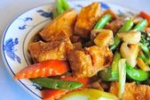 Delicious Asian bean curd — Stock Photo