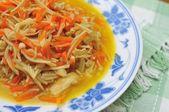 Chinese style mushroom delicacy — Stock Photo
