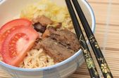 Sumptuous Japan noodle cuisine — Stock Photo
