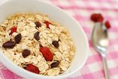 Nutritious oatmeal — Stock Photo
