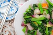 Sumptuous Chinese style vegetables — Stock Photo