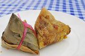 Chinese vegetarian dumpling — Stock Photo