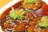 Chinese vegetarian cuisine — Stock Photo